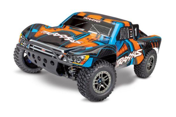 Traxxas slash 4X4 Ultimate TSM orange zonder batterij en lader