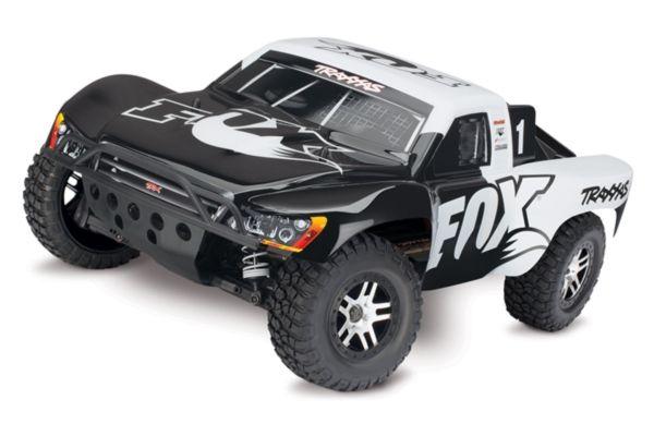 Traxxas Slash vxl 4x4 TQi  Fox zonder batterij en lader