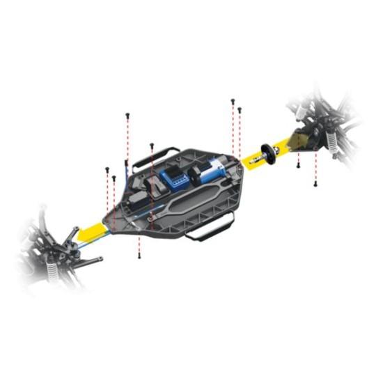 Traxxas Slash vxl 4x4 TQi  Mark zonder batterij en lader