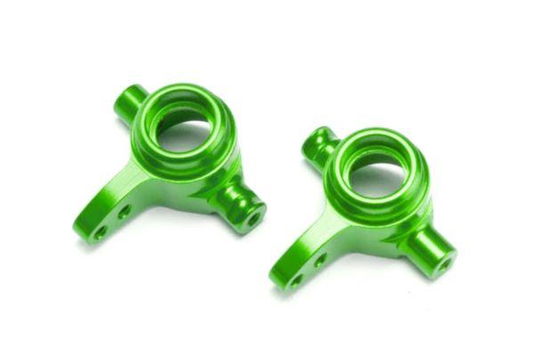 Steering blocks, 6061-T6 aluminum, left & right (green-anodize