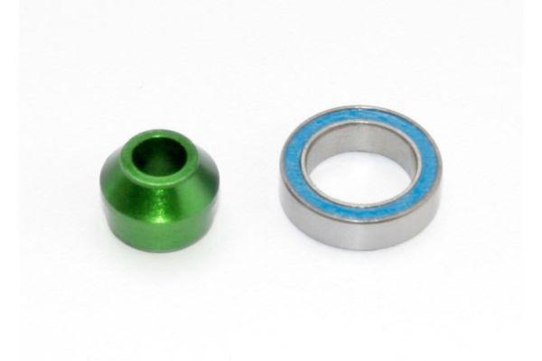 Traxxas Bearing Adapter 6160-T6 Aluminum Green