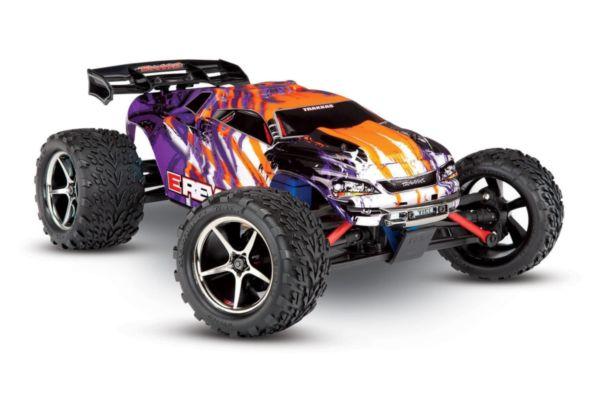 Traxxas E-Revo VXL 1/16, Brushless, TQi  TSM purple
