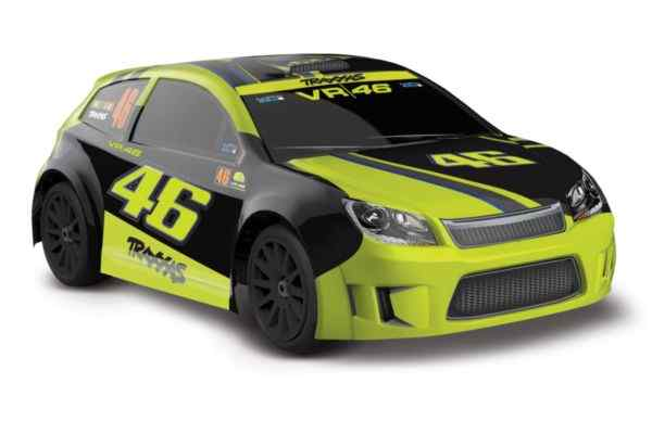 LaTrax Rally 1op18 brushed RTR VR46 Rossi edition