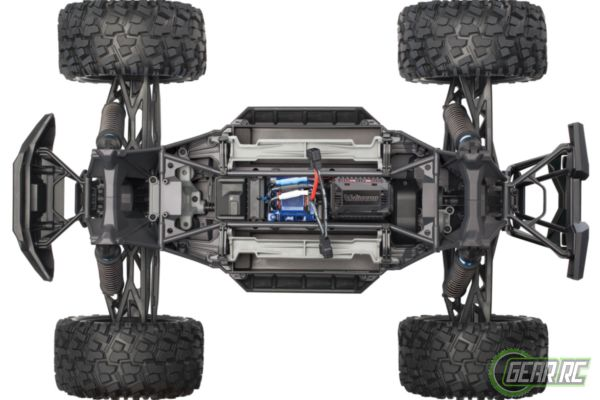 Traxxas X-Maxx 4WD 8S brushless monstertruck rood