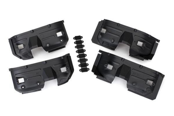 Fenders, inner, front & rear (2 each)/ rock light covers (8)