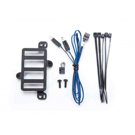 Installation kit, Pro Scale Advanced Lighting Control System, TRX-4 Ford Bronco (includes mount, reverse lights harness, hardware)