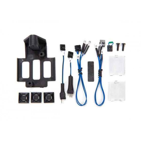 Installation kit, Pro Scale Advanced Lighting Control System, TRX-4 Sport (includes mount, rear lens, reverse lights and turn signal harnesses, hardware)