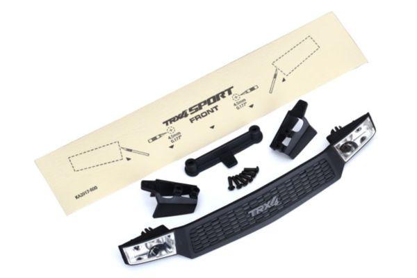 Traxxas TRX4 sport Grill-grill retainers 2pcs-headlight housing 2pcs-lens 2pcs-fits 8111 body