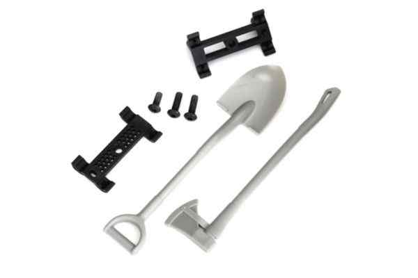 Shovel/ axe/ accessory mount/ mounting h