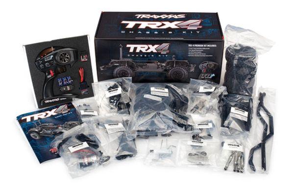 Traxxas TRX-4 bouwdoos Crawler TQi XL-5 zonder batterij en lader