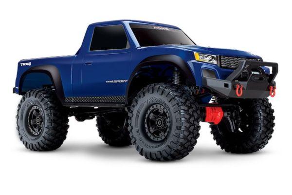 Traxxas TRX4 sport blauw