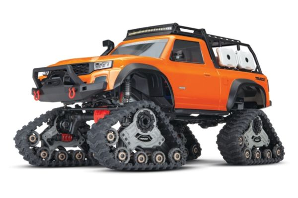 Traxxas TRX-4 Sport equipped with TRAXX TQ XL-5 (No battery/charger), Orange