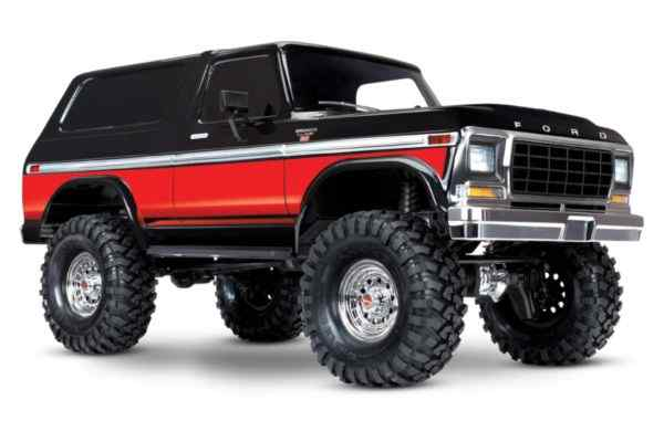 Traxxas TRX-4 Bronco Crawler red