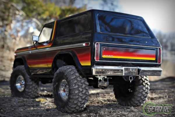 Traxxas TRX-4 Bronco Crawler sunset