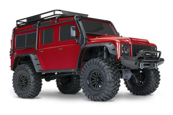 Traxxas Land Rover Defender Crawler rood