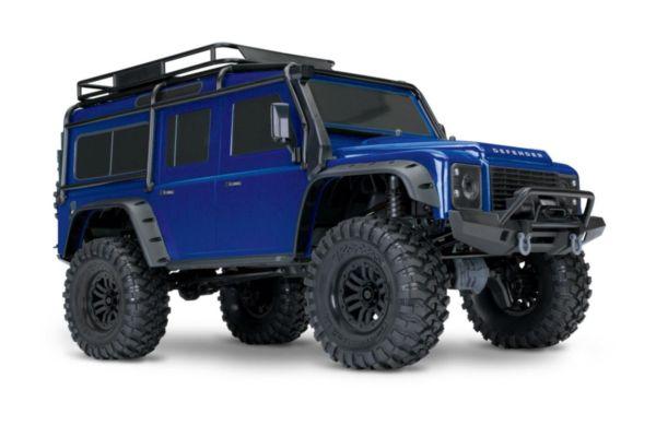 Traxxas Land Rover Defender Crawler blauw