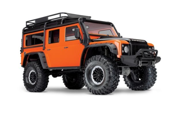 Traxxas Land Rover Defender Crawler, Adventure Edition Orange