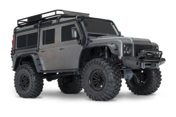 Traxxas Land Rover Defender Crawler grijs