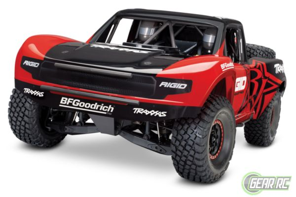 Traxxas Unlimited Desert Racer 4WD rood
