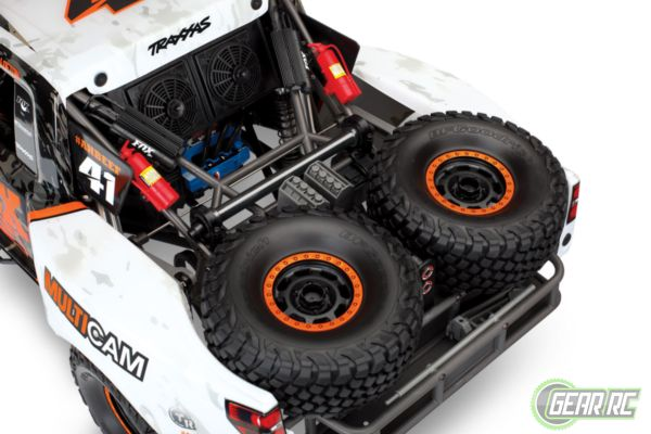 Traxxas Unlimited Desert Racer 4WD Fox