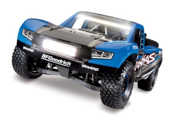 Traxxas Unlimited Desert Racer 4WD Blauw met verlichting