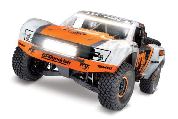 Traxxas Unlimited Desert Racer 4WD Fox met verlichting