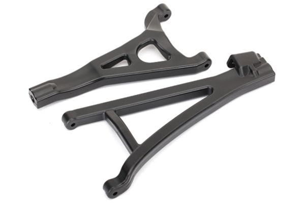 Suspension arms, front (left), heavy duty (upper (1)/  lower (1))
