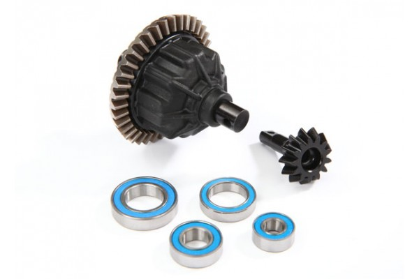 Differential, front or rear, complete (fits E-Revo VXL)