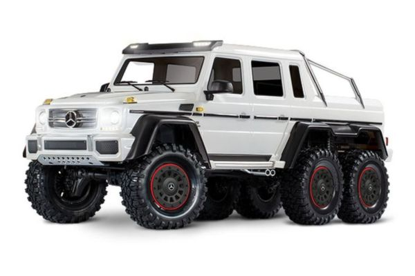 Traxxas TRX-6 Mercedes-Benz G 63 AMG Body 6X6 Electric Trail Truck Wit zonder accu en lader
