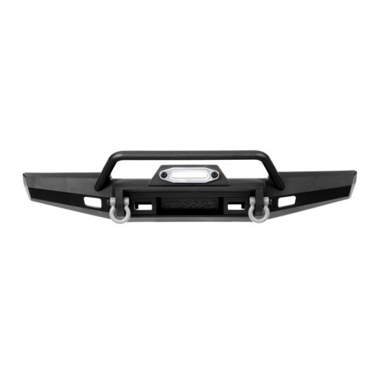 Bumper, front, winch, medium (includes bumper mount, D-Rings, fairlead, hardware) (fits TRX-4 1979 Bronco and 1979 Blazer with 8855 winch) (217mm wide)