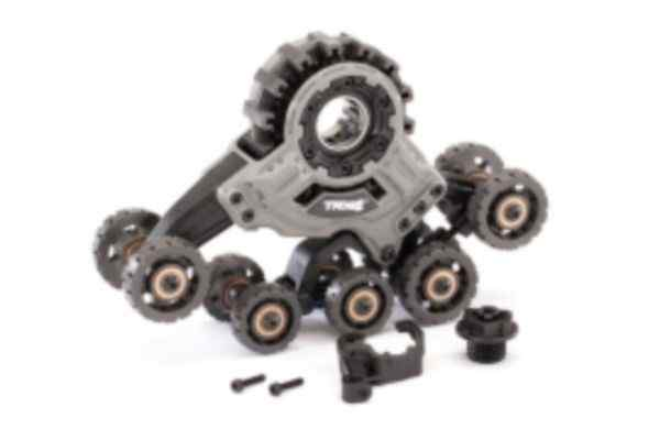 Traxx, front, right (assembled) (requires 8886 stub axle, 7061 GTR shock, & #8895 rubber track)