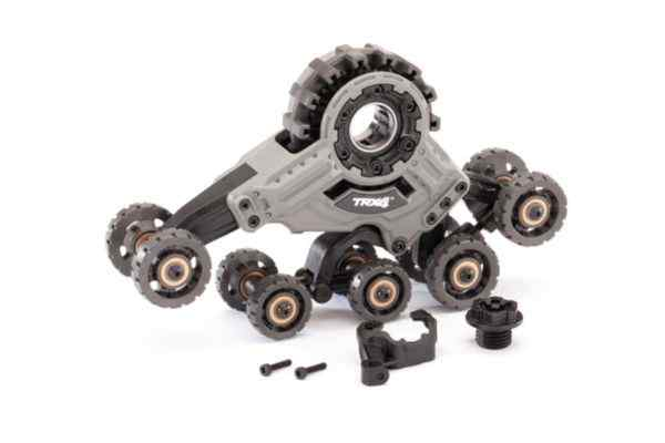 Traxx, rear, right (assembled) (requires  8886 stub axle, 7061 GTR shock, & #8896 rubber track)