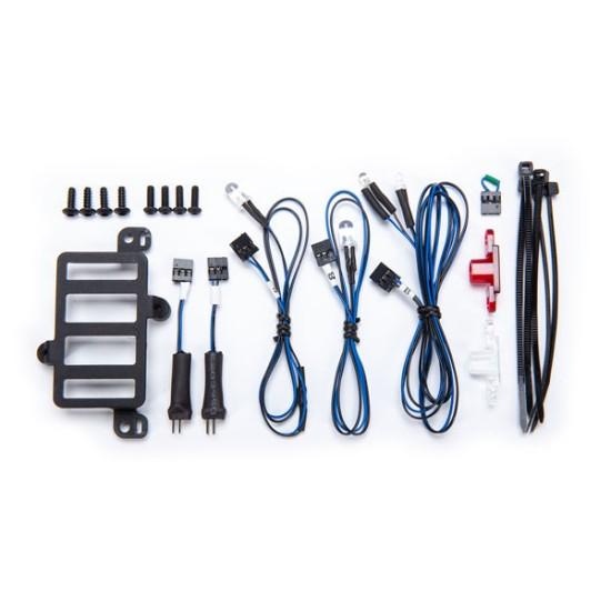 Installation kit, Pro Scale Advanced Lighting Control System, TRX-4 Mercedes G 500 & G 63 (includes mount, rear bumper lens, turn signal, reverse light & fog light harnesses, hardware)