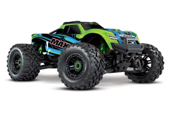 Traxxas Maxx 4S brushless monster truck groen zonder accu en lader