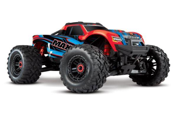 Traxxas Maxx 4S brushless monster truck redX