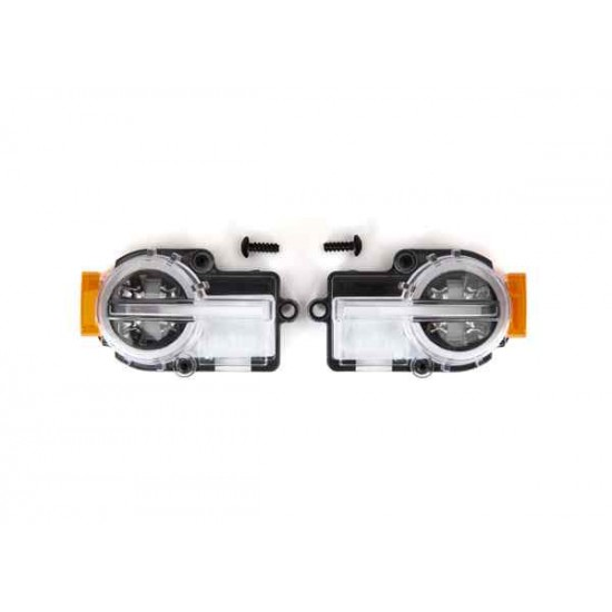Headlight assembly, complete (2)/ 2.6x8mm BCS (2) (fits 9211 body)