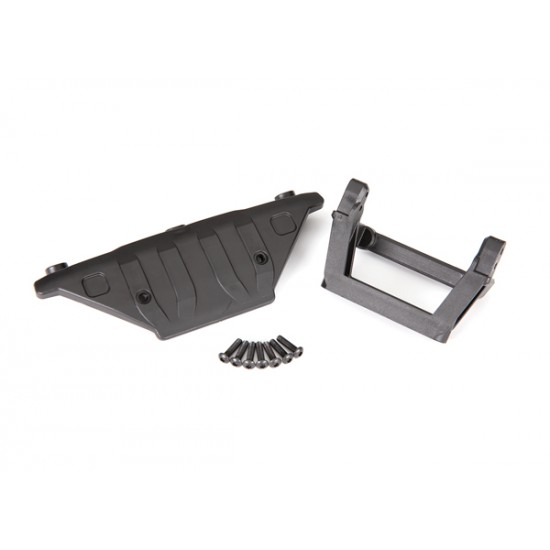 Bumper mount, front/ skidplate/ 3x12mm BCS (7)