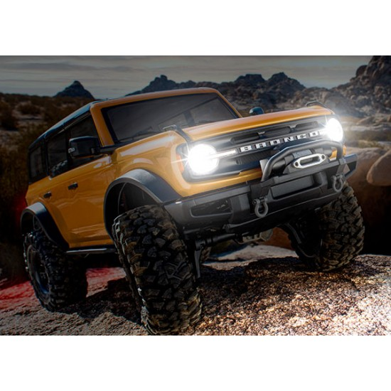 Pro Scale LED light set, Ford Bronco (2021), complete with power module (includes headlights, tail lights, & distribution block) (fits 9211 body)