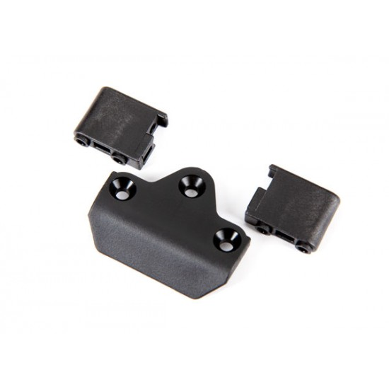 Skidplate, front/ servo mounts, steering (2)
