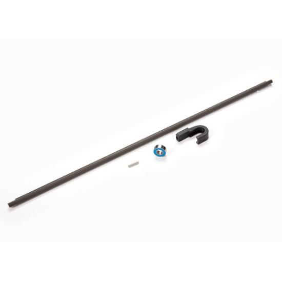 Driveshaft, center, steel (266mm)/ pin/ support, center driveshaft/ 5x11x4 bearing