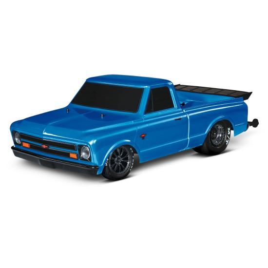 Traxxas Drag Slash 2WD TQi TSM (zonder batterij en lader), Blauw