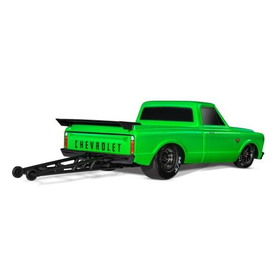 Traxxas Drag Slash 2WD TQi TSM (zonder batterij en lader), Groen