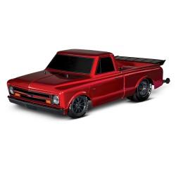 Traxxas Drag Slash 2WD TQi TSM (zonder batterij en lader), Rood
