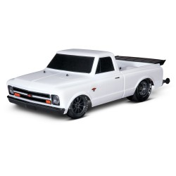 Traxxas Drag Slash 2WD TQi TSM (zonder batterij en lader), Wit