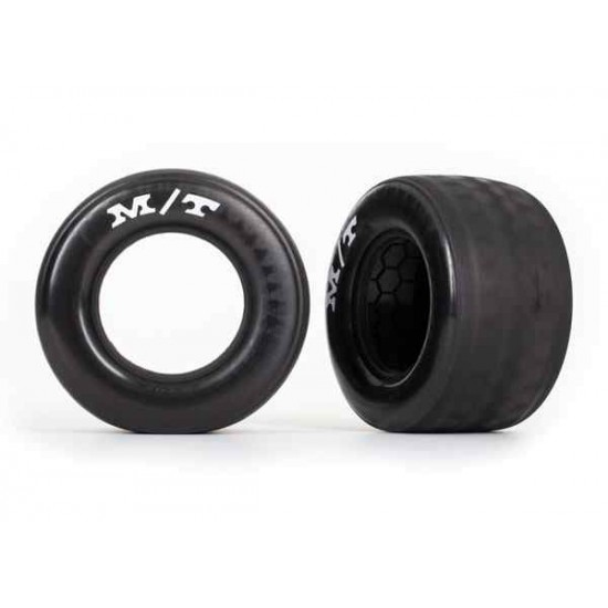 Tires, rear (2)/ molded inserts (2)