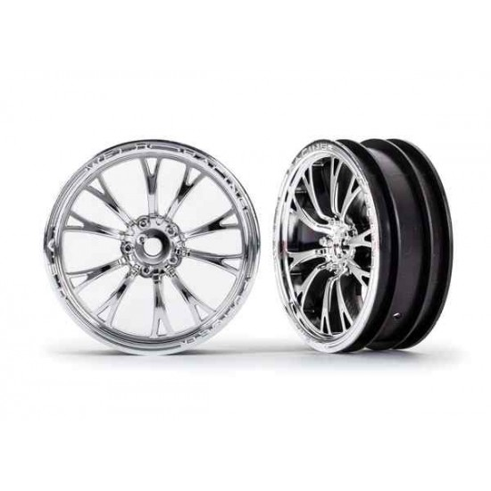 Wheels, Weld chrome (front) (2)