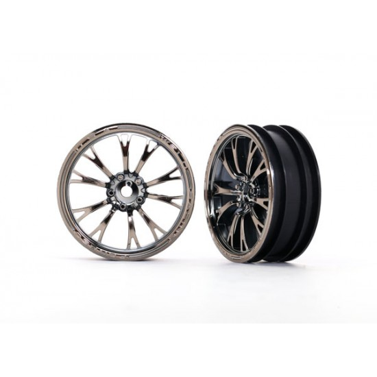 Wheels, Weld black chrome (front) (2)