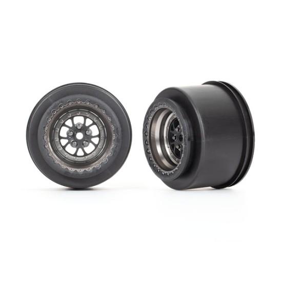 Wheels, Weld satin black chrome (rear) (2)