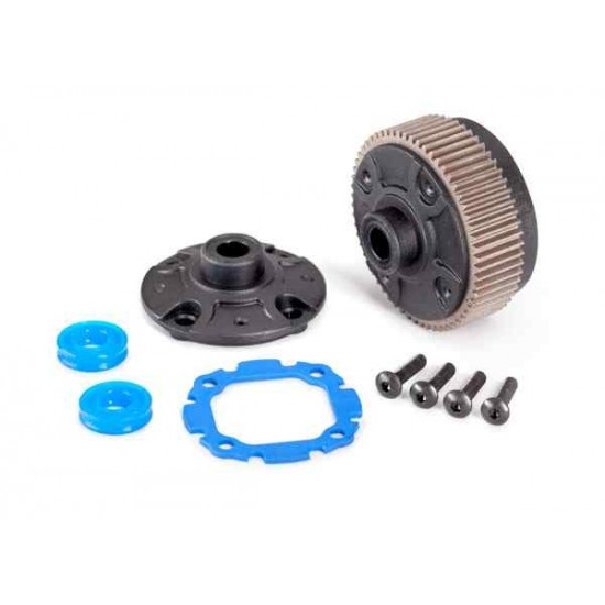 Differential with steel ring gear/ side cover plate/ gasket/ x-rings (2)/ 2.5x10mm BCS (4)