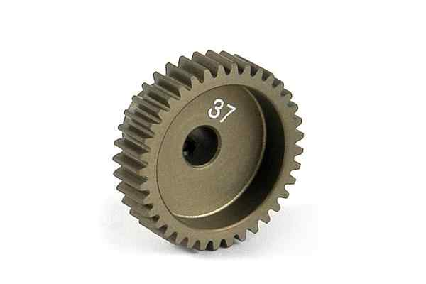 Narrow Pinion Gear Alu Hard Coated 37T : 64